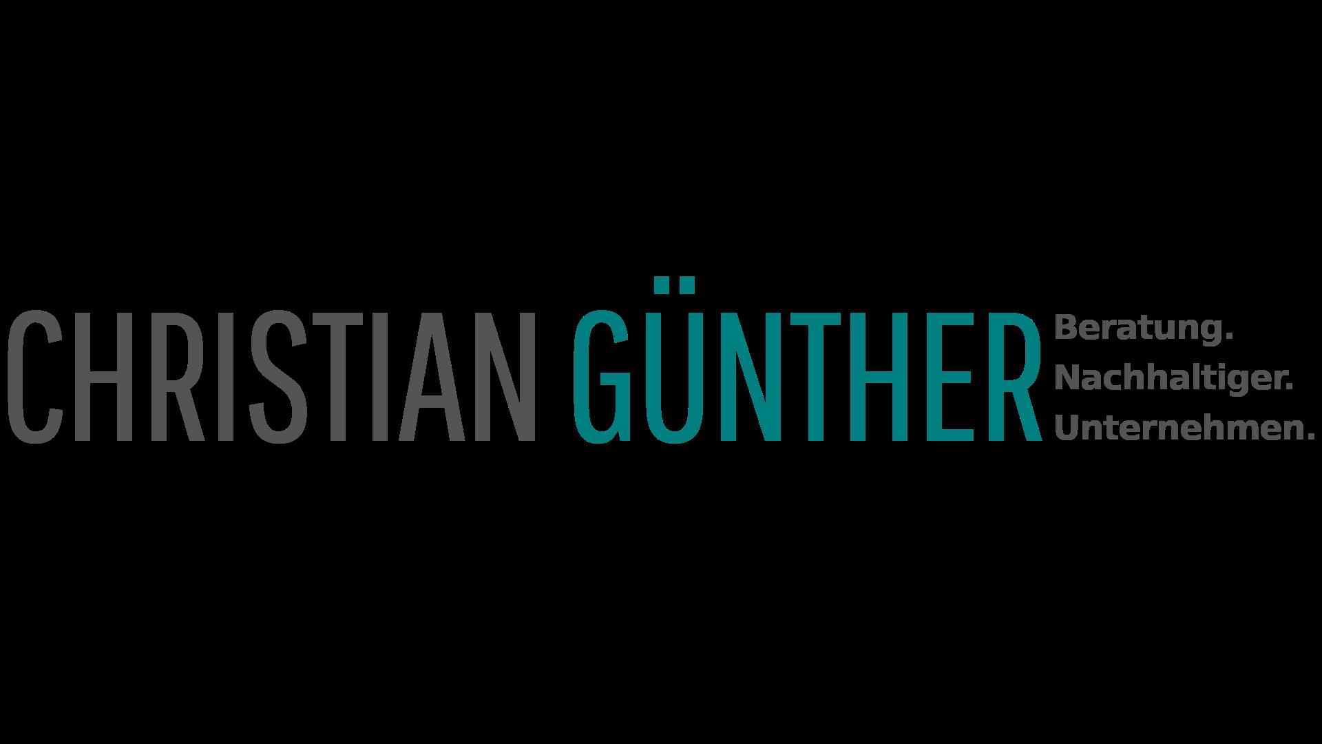 CHRISTIAN GÜNTHER – Beratung. Nachhaltiger. Unternehmen.